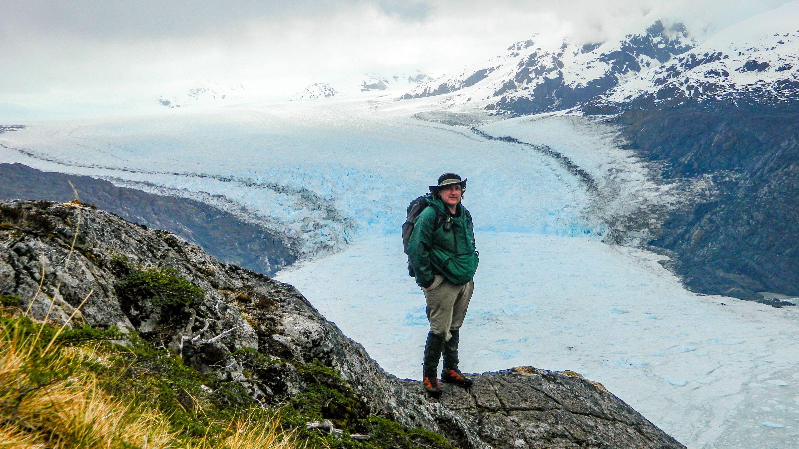 Glaciar Jorge Montt en el Hielo Patagónico Sur